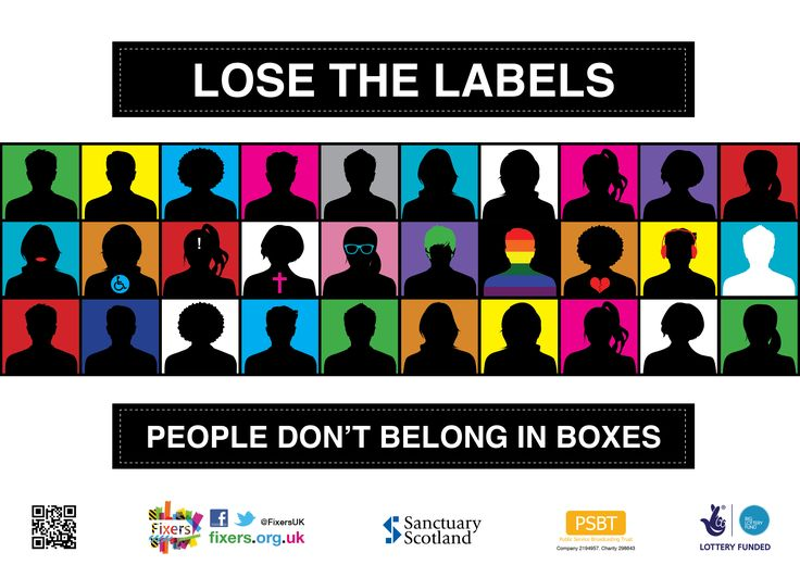 Damaging effects of stereotyping and labelling