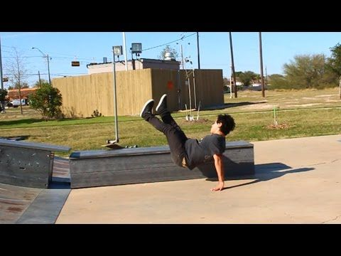 50-50 Kickflip 50-50 and ANGEL TAKES A BEATING