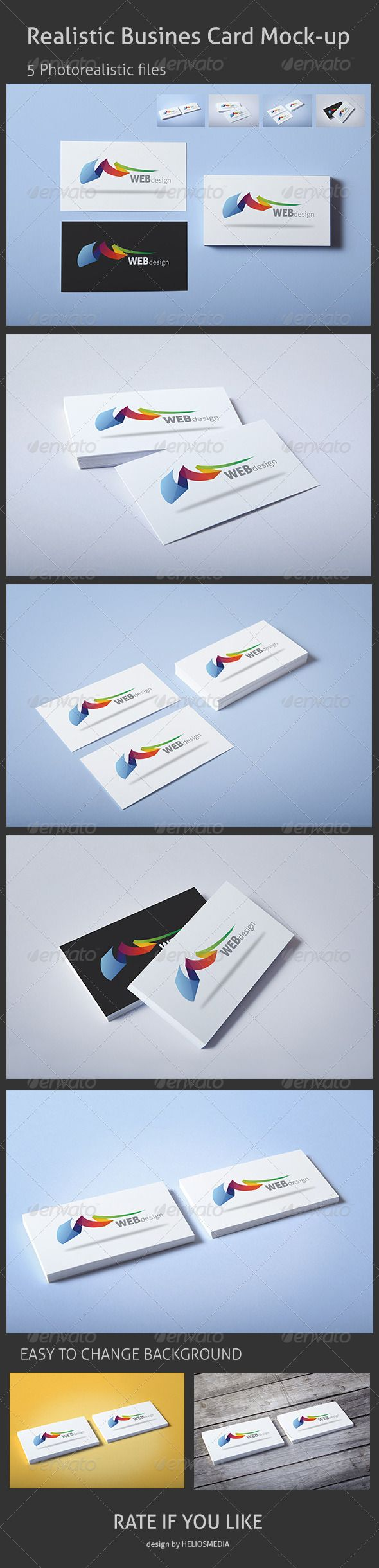 717 best business card mockup images on pinterest fonts realistic business card mock up magicingreecefo Gallery