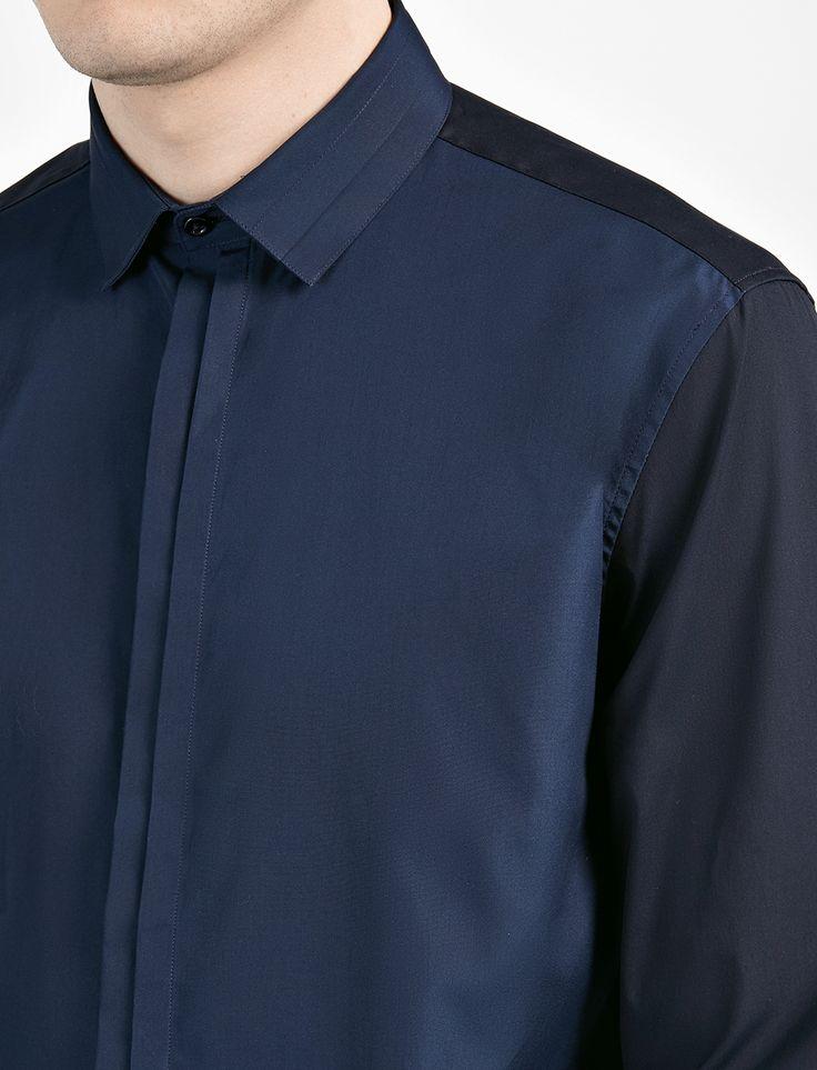 Poplin Stretch Pleat Shirt alternative image