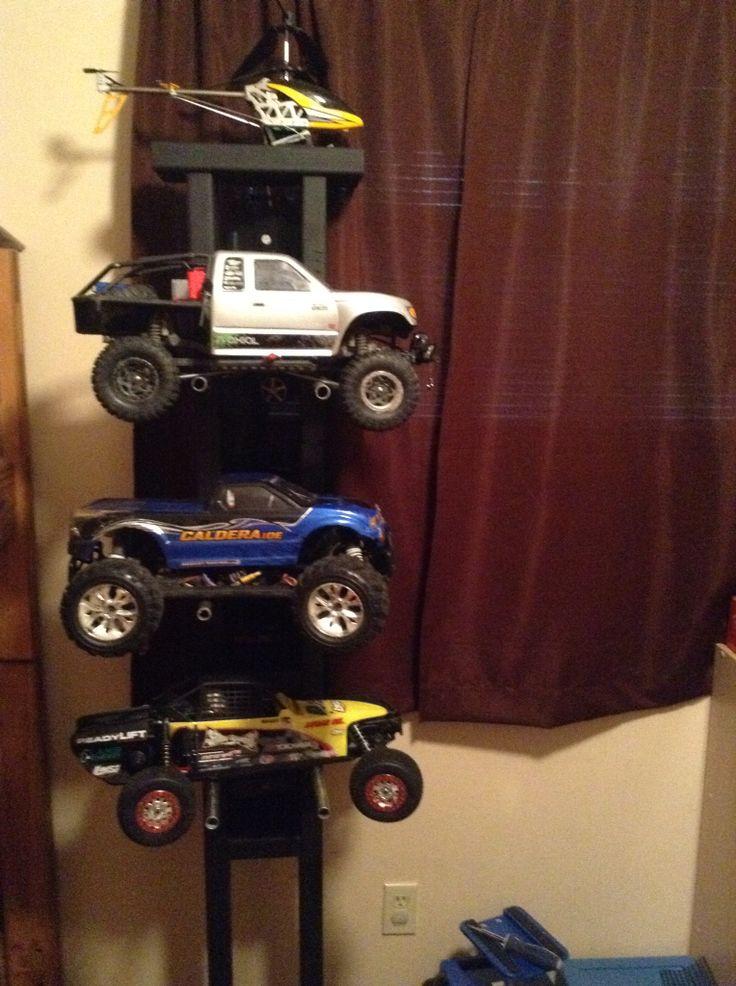 My Homemade Rc Truck Holder Rc Stuff Pinterest