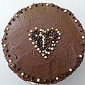 Gâteau chocolat-caramel... pour le goûter de mes zamours!