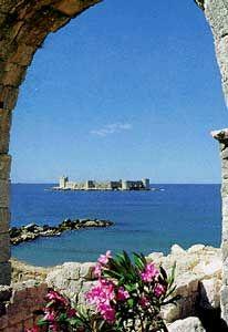Castle by the Sea Mersin, Turkey