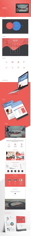 UI design for startup incubator (Innocity - CIIE)