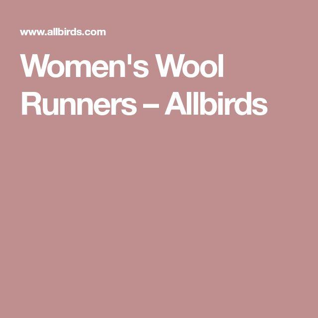 Women's Wool Runners – Allbirds