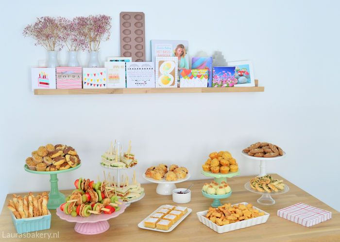 High tea organiseren: tips en recepten - Laura's Bakery