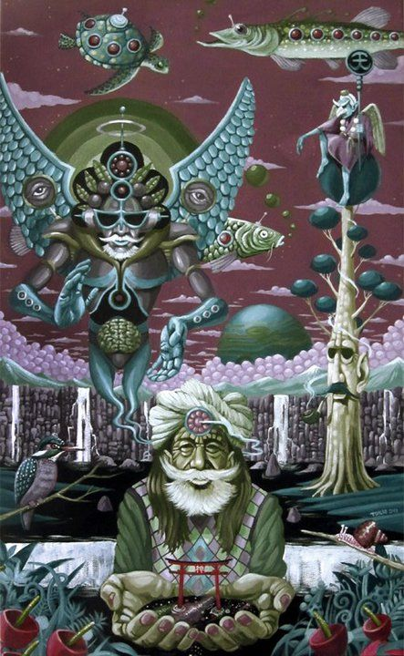 Psychedelic Artist: Tokio Aoyama (Japan)
