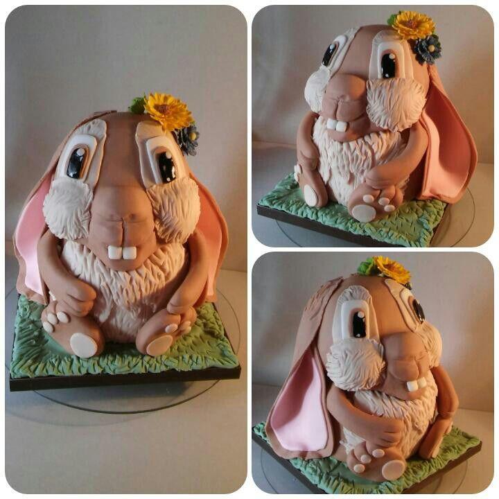 Nyuszi torta