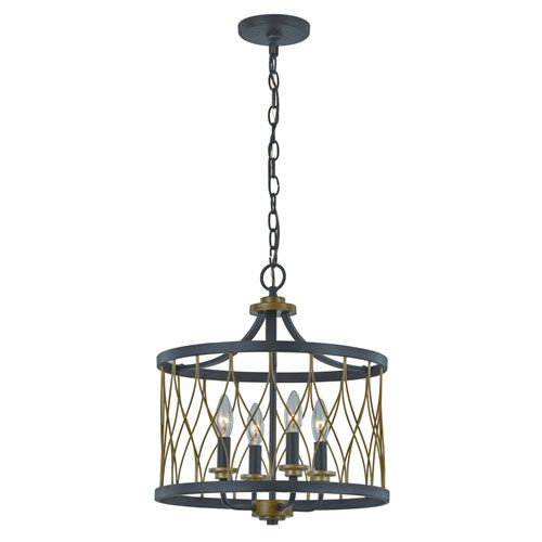 Trans Globe Lighting Tahoe Rubbed Oil Bronze Four Light Chandelier On SALE