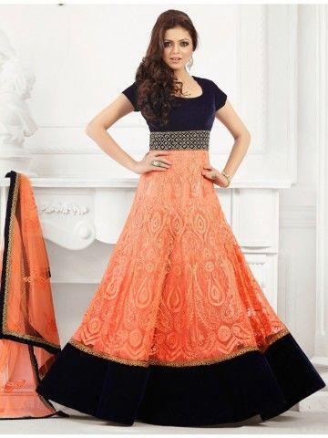Madhubala Party Wear Anarkali Suit - 48002