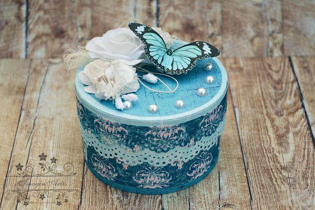 Pudełko w kolorze blue