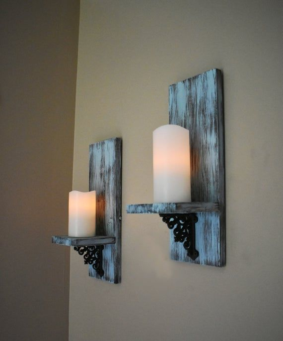 Rustic Wall Decor Wall Sconce Set Of 2 Wall Sconce Set