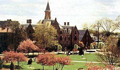 Seton Hall University, South Orange, New Jersey; Founded in 1856