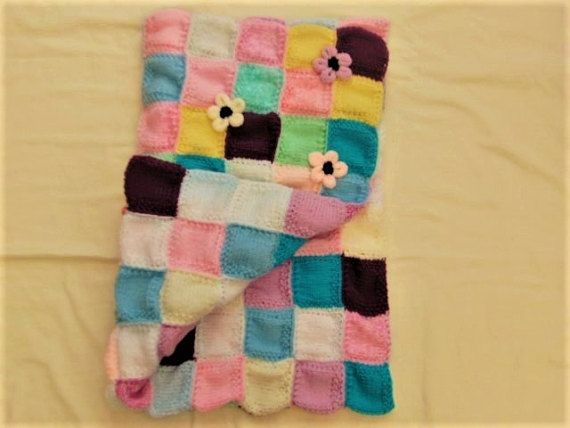 Hand Knitted Double Sided Reversible by Creationsfortinytots