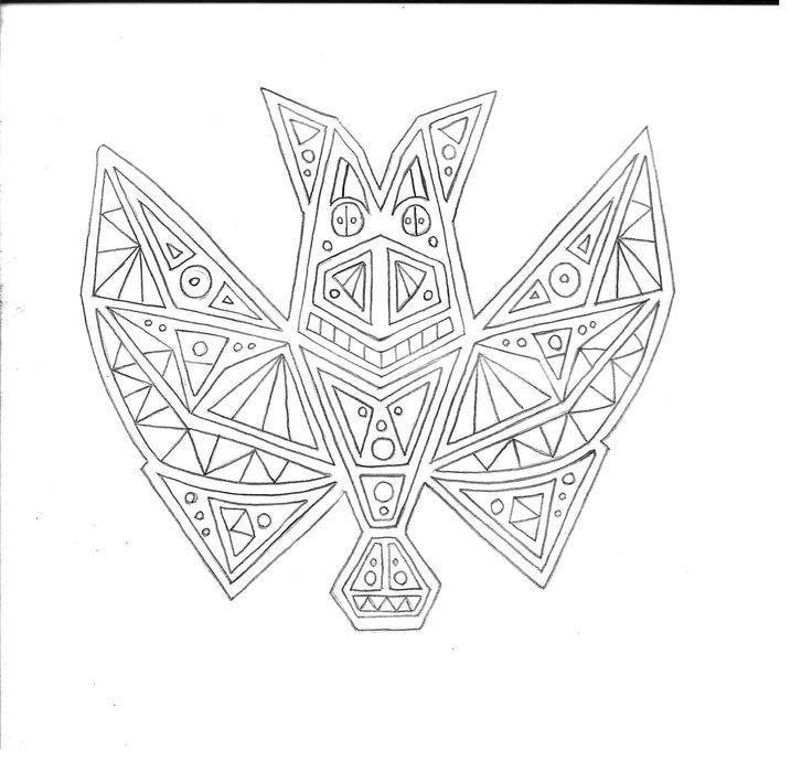 murciélago simetrico