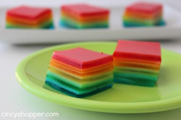 Rainbow Jell-O Recipe - CincyShopper
