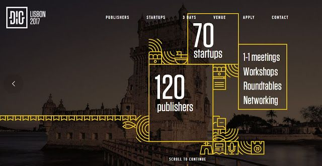 DiG Publishing Lisbon 2017  28th to 1st OCT 2017