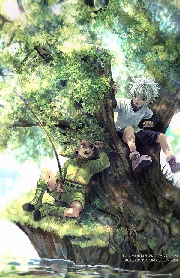 Hunter X Hunter - Fishing Time by Shumijin on DeviantArt