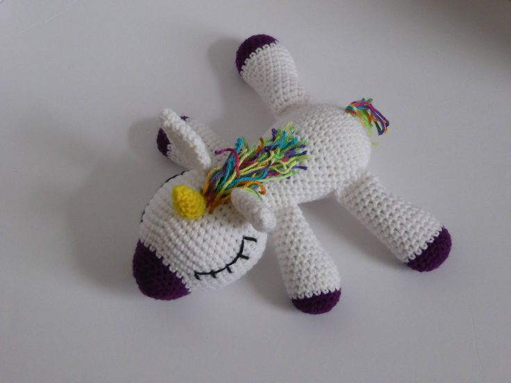 Amigurumi Unicorn : Best crochet i like horses ponies and unicorns images on
