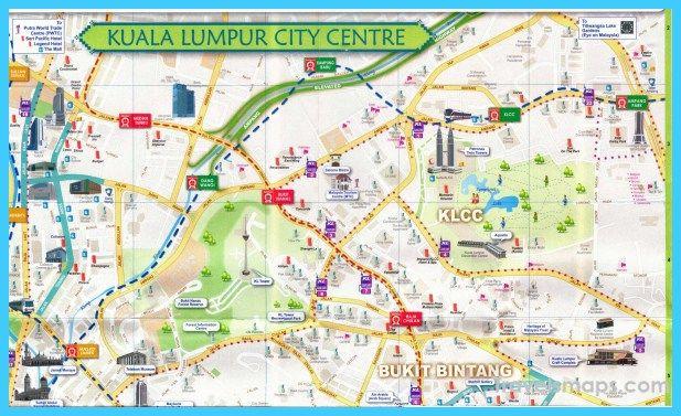 nice Map of Kuala Lumpur