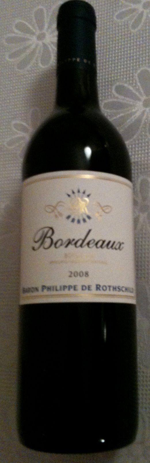 Wine Script: Baron Philippe de Rothschild Bordeaux 2008