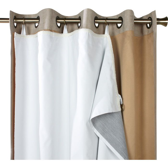features material face 80 polyester 20 cotton back panel curtainsrod