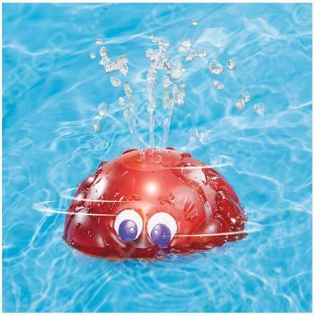 Little Tikes «Вращающийся фонтан». В ассортименте  — 1060р. ---- Товар продается в ассортименте. Вид товара при комплектации заказа зависит от наличия товарного ассортимента на складе. Игрушка для ванны Little Tikes Вращающийся фонтан вращающаяся игрушка для ванны. Достаточно опустить игрушку в воду и включить, она станет вращаться, заработает подсветка, а сверху будут вырываться струйки воды. В передней части находится симпатичное выражение лица. Работает фонтан от 3-х батареек типа ААА…