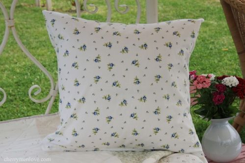 How To Make A Cushion Cover With A Zip « Homemaker Cherry Menlove