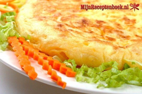 Vega aardappeltortilla recept