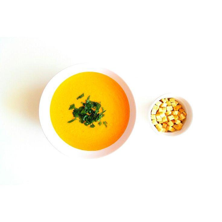 Zupa krem z cieciorki z imbirem