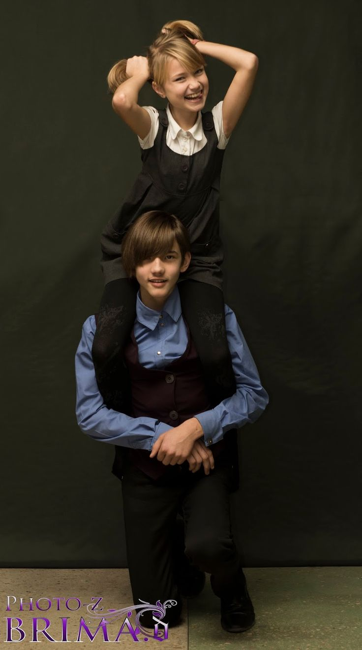Brima.d: Фотосессия моделей Кийоми (13 лет), Рэн (13 лет)