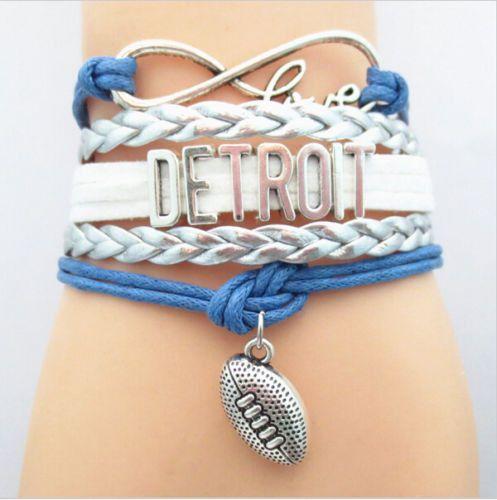 Bracelet {Detroit Lions} Football