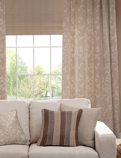 ORNATE DAMASK curtains living room
