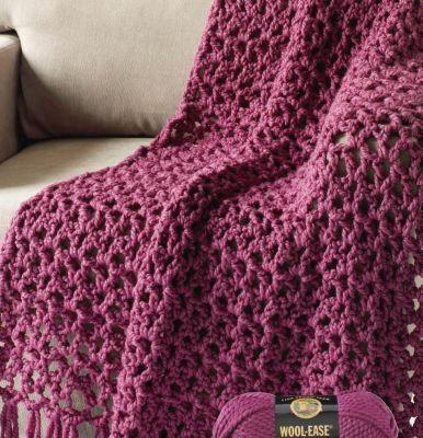 5½ Hour Crochet Throw