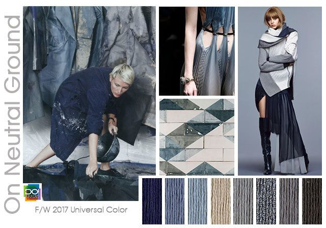 TRENDS // DESIGN OPTIONS - F/W 2017-18 COLORS - PART 2 (FASHION VIGNETTE)