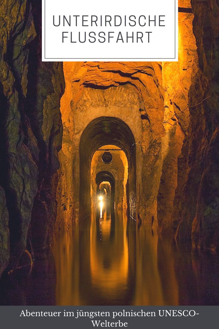 Silberbergwerk von Tarnowitz – unterirdische Flussfahrt