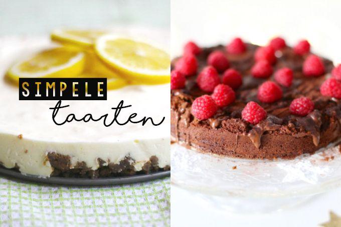 In dit artikel laten we vijf lekkere en simpele taarten zien die eigenlijk iedereen wel in elkaar kan draaien. Benieuwd? Kijk dan gauw verder.