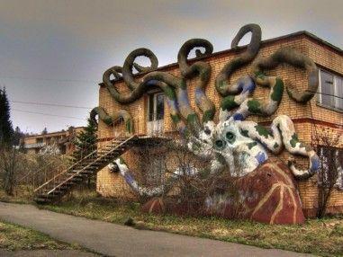 Самые жуткие заброшенные места Москвы