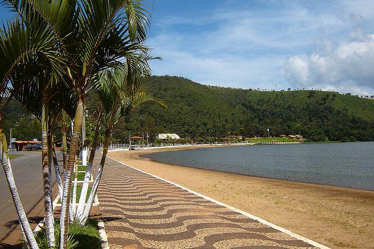 Dá até para pegar uma praia - Capitólio, Minas Gerais