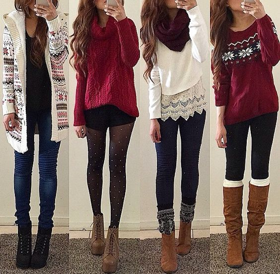 21 Cute Valentine S Day Outfits For Teen Girls Clothes Pinterest
