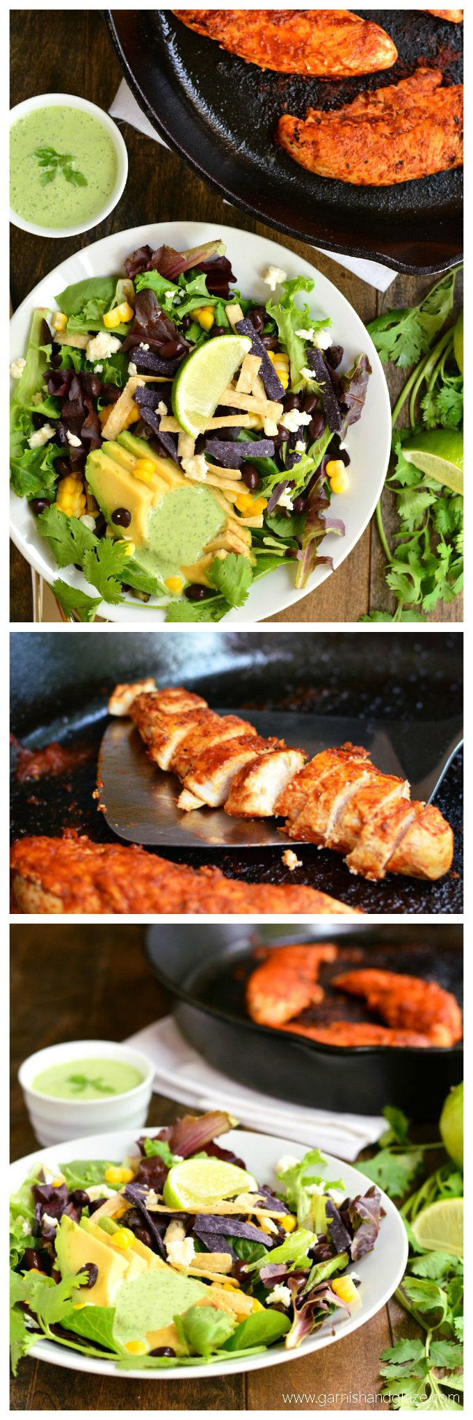 ... Salads on Pinterest | Pomegranates, Chipotle chicken and Tomato salad