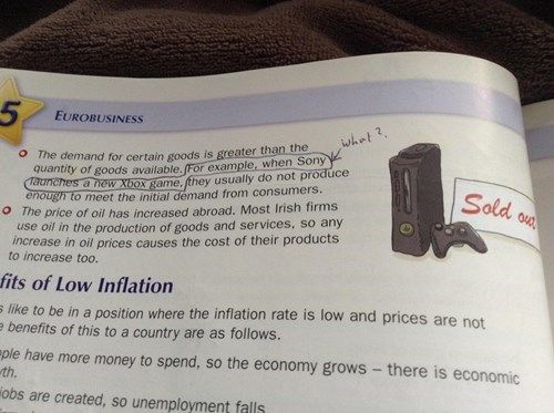 Economics Textbook Tries to Be Hip and Cool and Fails Horribly