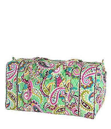 Vera Bradley Large Duffel love my duffel bags by Vera
