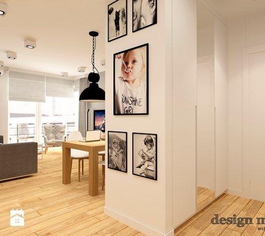 NOWOCZESNE BEMOWO - Hol / przedpokój, styl nowoczesny - zdjęcie od design me too
