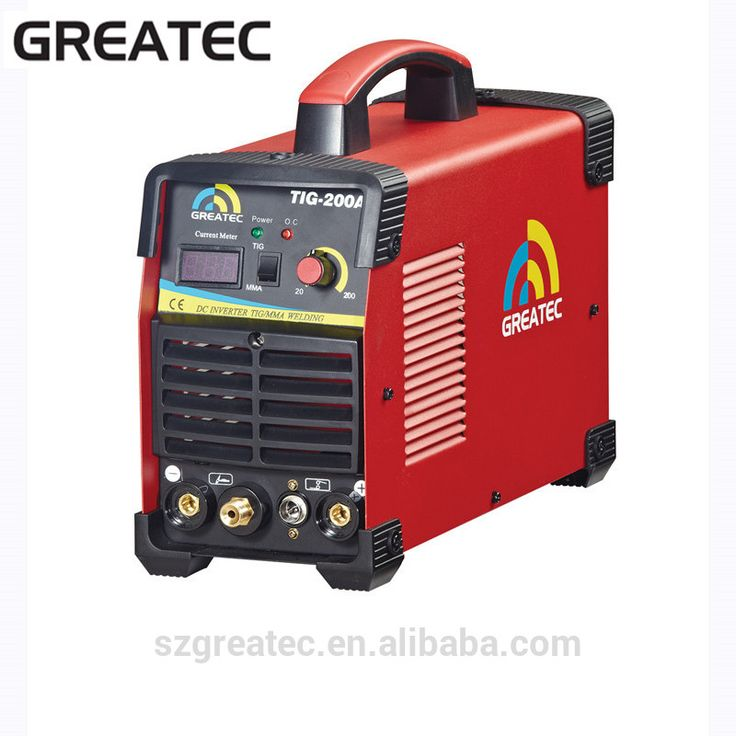 Portable tig welding machine with TIG and ARC function TIG-200A
