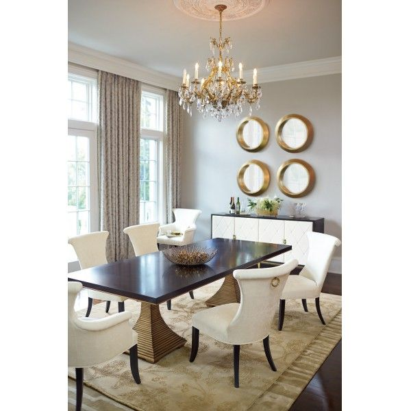 Jet Set Dining With Double Pedestal Table By Bernhardt At Johnny Janosik