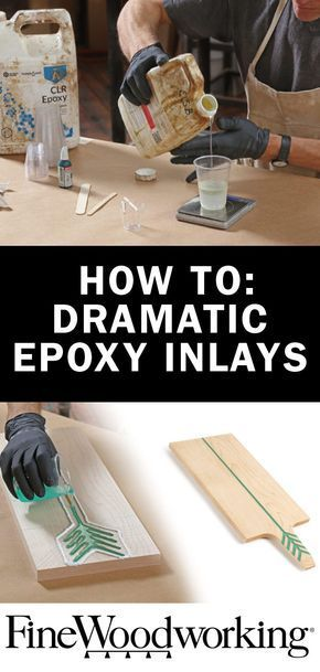 Epoxy resin is a great inlay material because it allows you to … #WoodWorking #WoodWorkingprojects #WoodWorking Tools #WoodWorkingplace #WoodWorkingdiy #WoodWorkingfurniture #WoodWorkingideas #WoodWorkingips