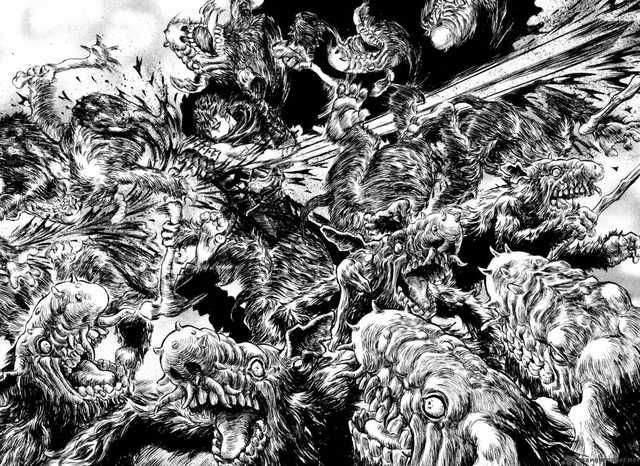 Imgur   Berserk, Manga artist, Cool artwork