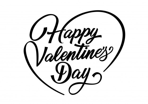 Download Happy Valentines Day Lettering For Free Happy Valentines Day Calligraphy Valentine S Day Letter Valentines Letter