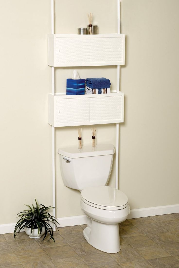 Zenith Products 3772w Double Cabinet Space Saver Over The Toilet Shelving System